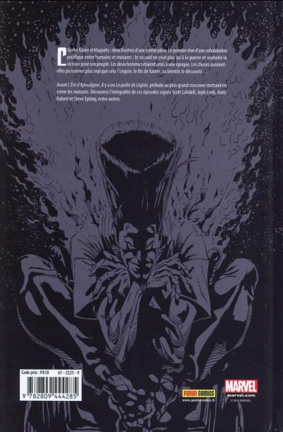 Dos X-Men - L'Ère d'Apocalypse - Prélude