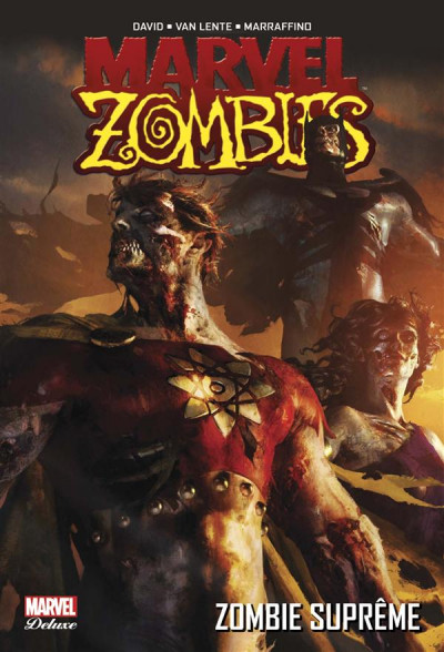Couverture Marvel Zombies - Deluxe tome 4