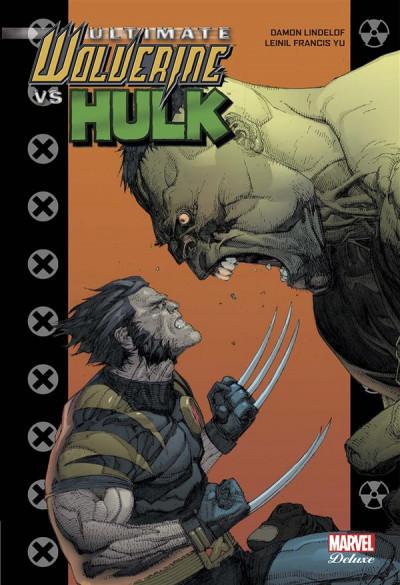 Couverture Ultimate Wolverine vs Hulk