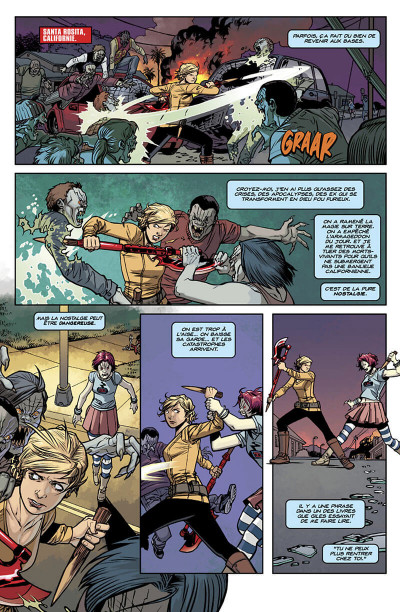 Page 6 Buffy contre les vampires - saison 10 tome 1