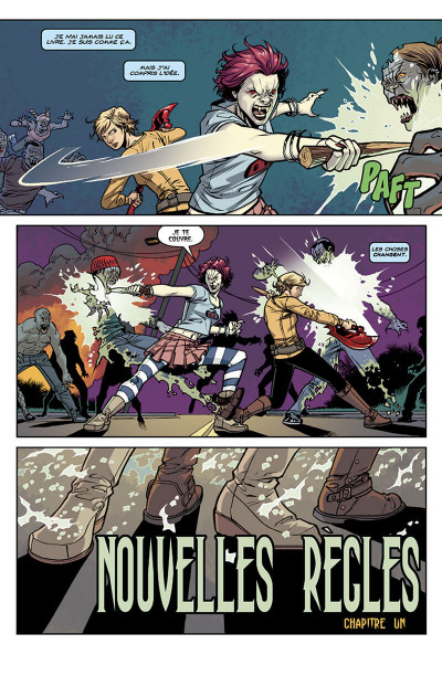 Page 7 Buffy contre les vampires - saison 10 tome 1