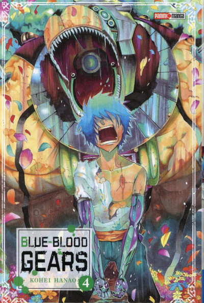 Couverture Blue-Blood Gears tome 4
