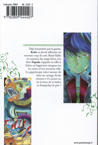 Dos Blue-Blood Gears tome 4