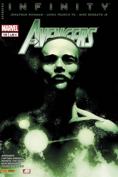 Couverture Avengers 2013 tome 12 - Infinity