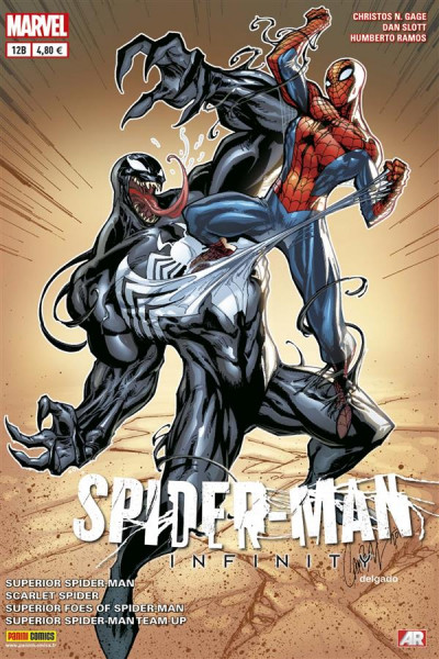 Couverture Spider-man 2013 012 infinity cover special librairie