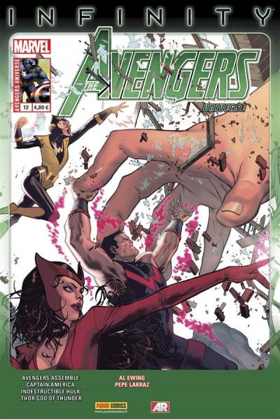 Couverture Avengers Universe N.12