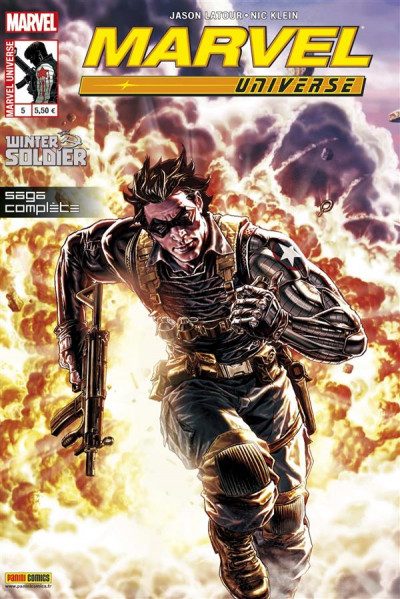 Couverture marvel universe 2013 05 : le soldat de l'hiver