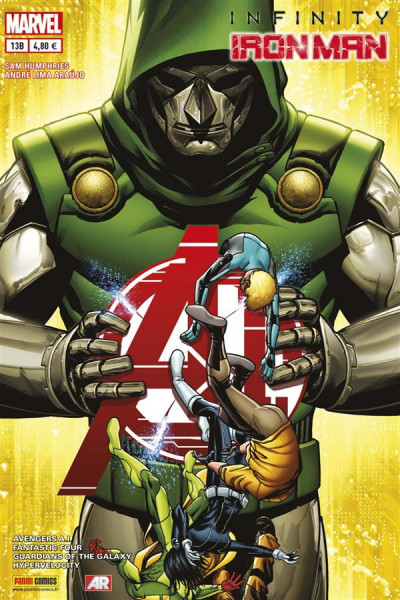 Couverture Iron man 2013 tome 13 - Cover librairie
