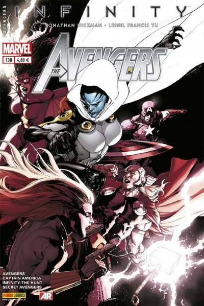 Couverture Avengers N.2013/13 ; Infinity