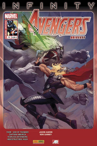 Couverture Avengers Universe tome 13 - Infinity