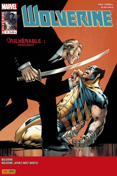 Couverture Wolverine N.2013/13