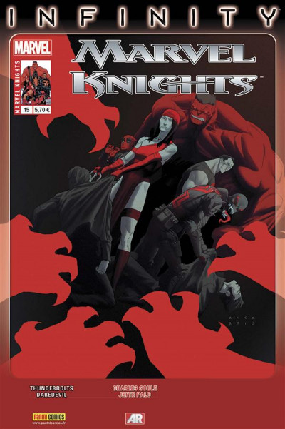 Couverture Marvel Knights tome 15