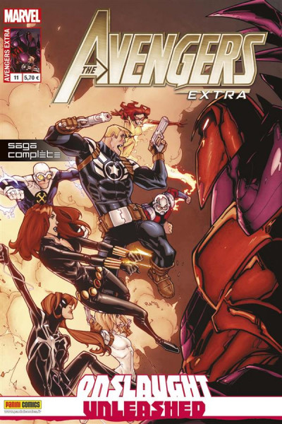 Couverture Avengers extra N.11 ; onslaught unleashed