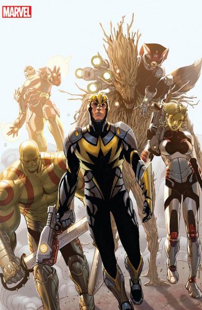 Couverture Iron Man 2013 tome14 - Les gardiens de la galaxie (édition spéciale)