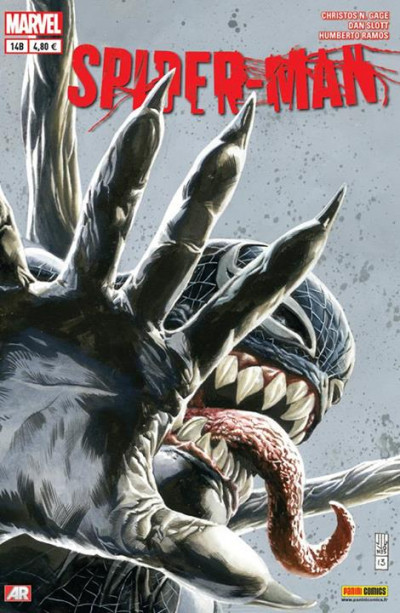 Couverture Spider-Man 2013 tome 14 - Cover  Librairie