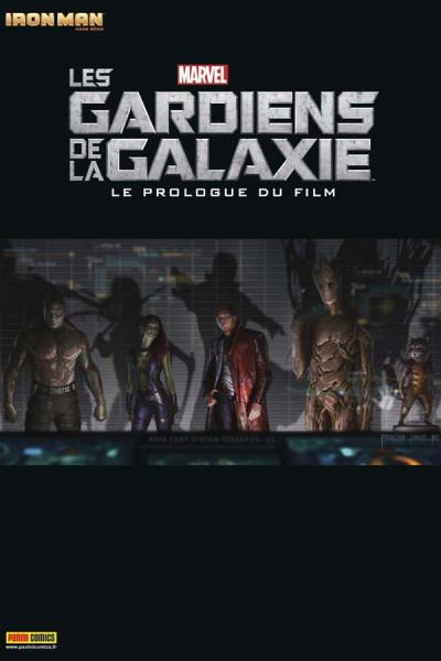 Couverture Iron Man HORS-SERIE N.2012/5 ; les Gardiens de la Galaxie, le prologue du film