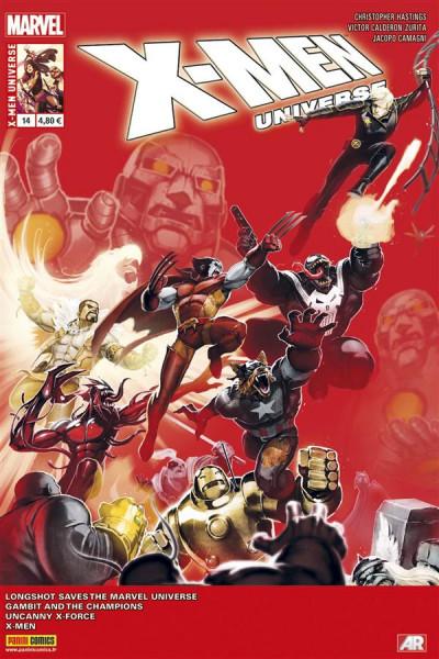 Couverture x-men universe 2013 014 vendetta 2/4