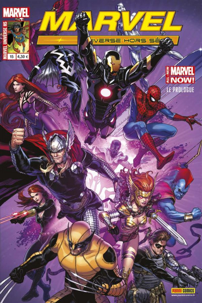 Couverture Marvel Universe Hs 15 : All New Marvel Now ! Point One