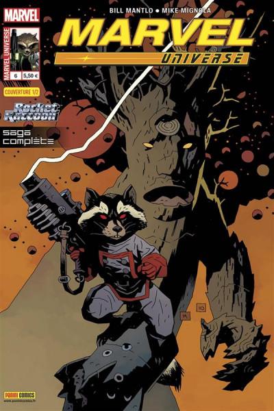 Couverture marvel universe 2013 06 1/2 rocket raccoon