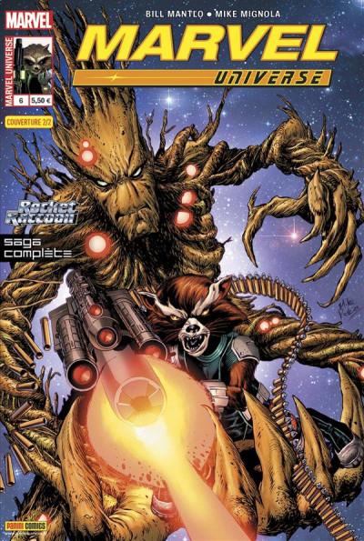 Couverture marvel universe 2013 06 2/2 rocket raccoon