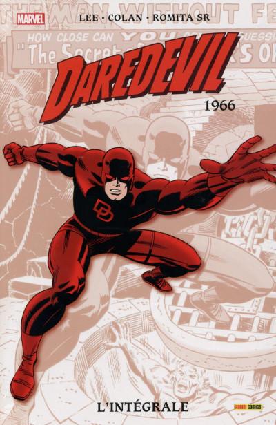Couverture Daredevil - Intégrale 1966