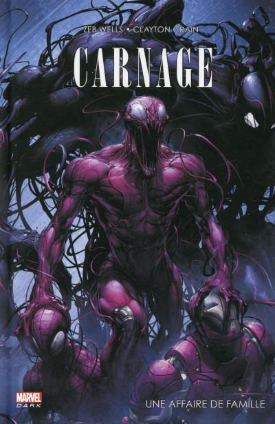 Couverture Spider-Man - Carnage : une affaire de famille