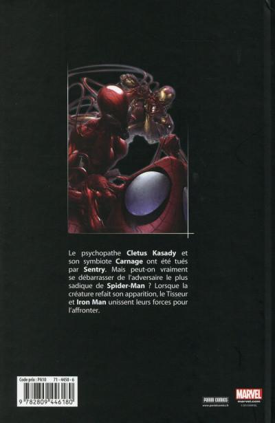 Dos Spider-Man - Carnage : une affaire de famille
