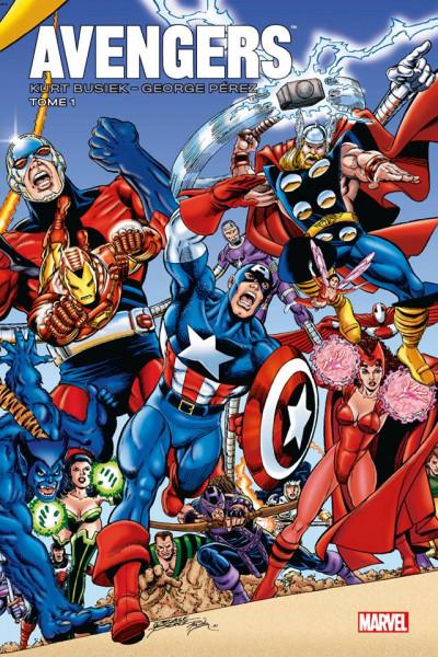 Couverture Avengers par Busiek et Pérez tome 1