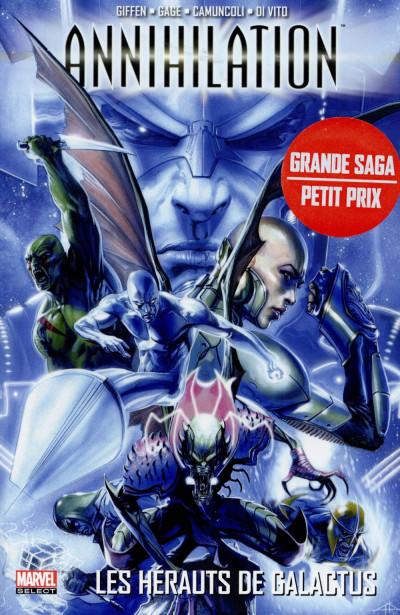 Couverture Annihilation tome 2 - Les hérauts de Galactus