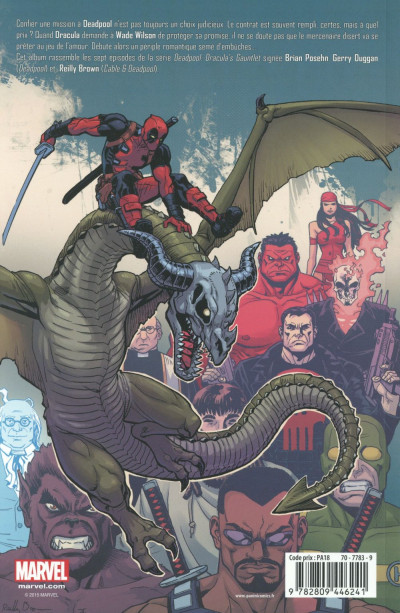 Dos Deadpool (Marvel monster édition) tome 7