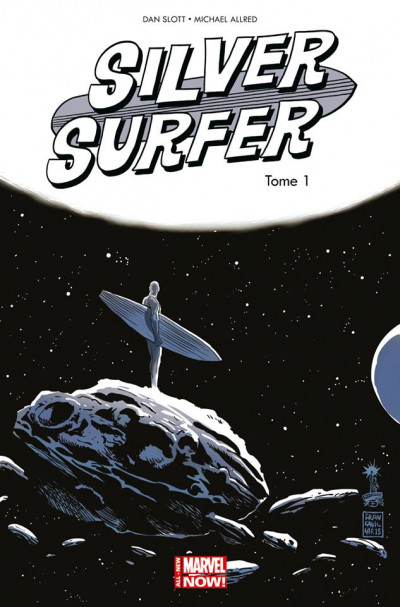 Couverture Silver Surfer - All-New Marvel Now tome 1