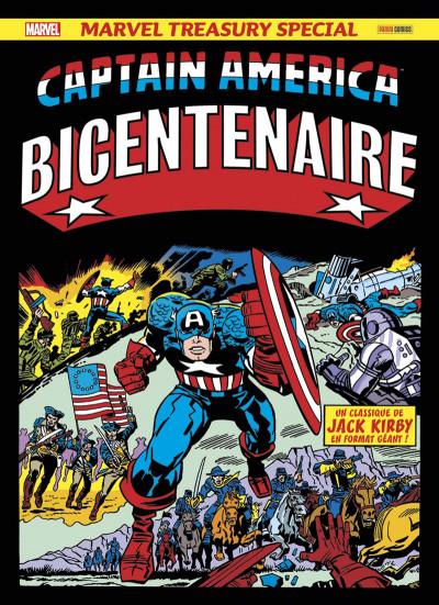 Couverture Captain America - Bicentenaire