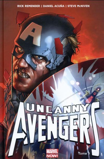 Couverture Uncanny Avengers tome 3