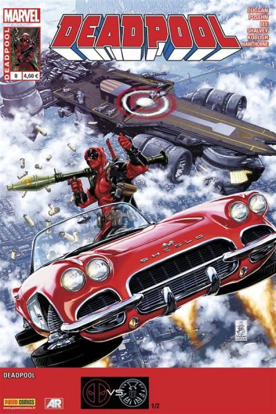 Couverture Deadpool (4è série) tome 8