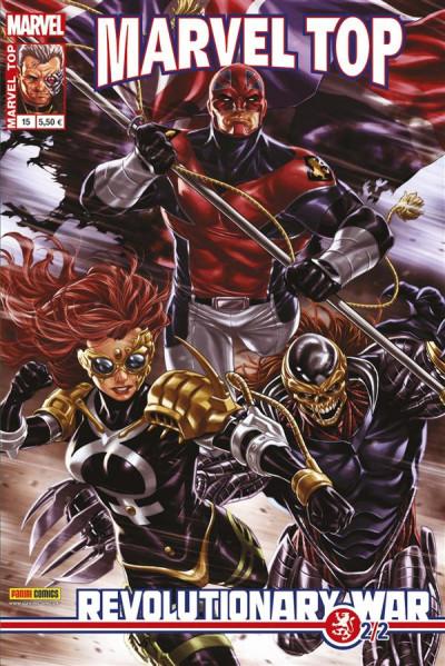 Couverture Marvel Top 15 : Revolutionary War 2/2