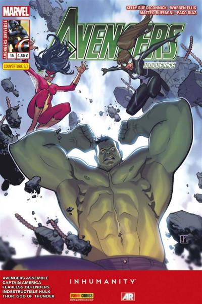 Couverture Avengers Universe tome 15 2/2 Jorge Molina