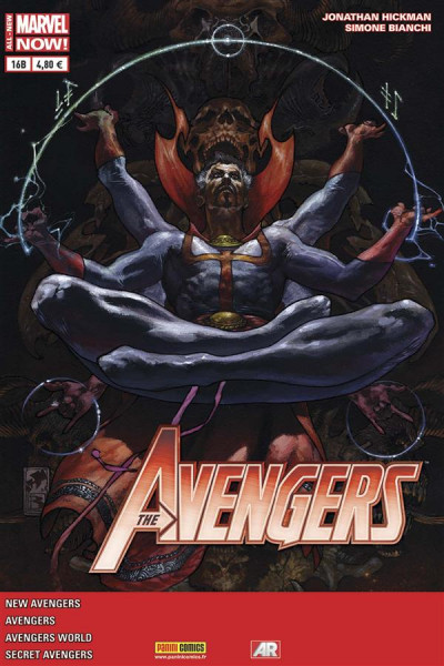 Couverture Avengers 2013 tome 16 Cover Librairie