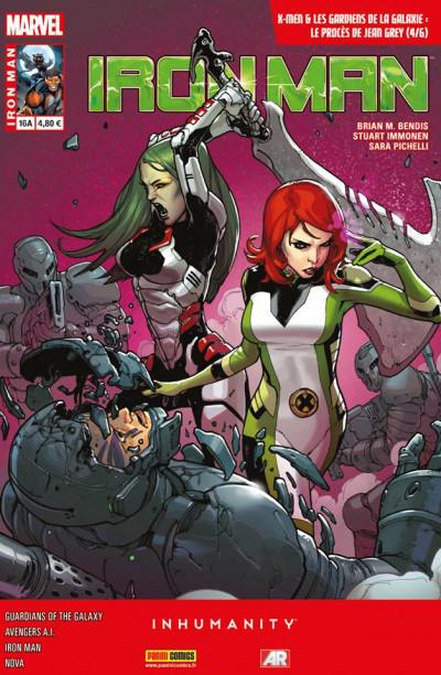 Couverture Iron Man 2013 tome 16 Le Procès de Jean Grey 4/6