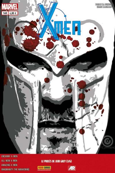 Couverture X-Men 2013 tome 16 :  Le procès de Jean Grey 3/6 Cover Librairie