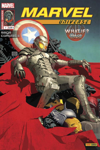 Couverture Marvel Universe 2013 tome 7 : What If ? Age Of Ultron