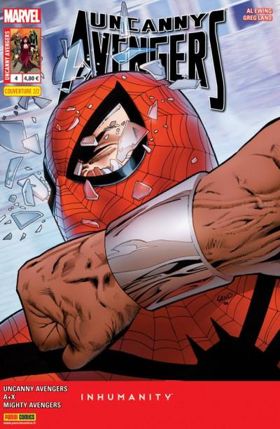 Couverture Uncanny Avengers V2 tome 4 Cover 2/2