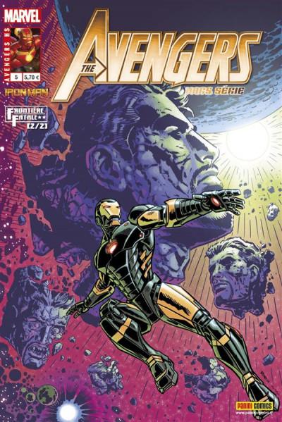 Couverture Avengers HS tome 5 - Iron Man - Fatal Frontier 2/2