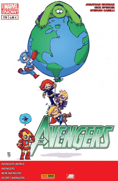 Couverture Avengers 2013 tome 17 Cover Librairie