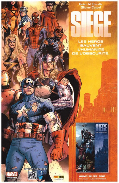 Dos Avengers 2013 tome 17 Cover Librairie