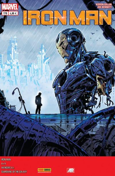 Couverture Iron Man 2013 tome 17 - Le Procès  De Jean Grey 6/6, Cover Librairie