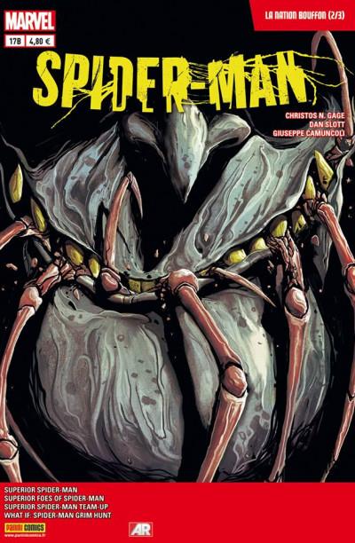 Couverture Spider-Man 2013 tome 17 - La Nation Bouffon 2/3 (cover librairie)