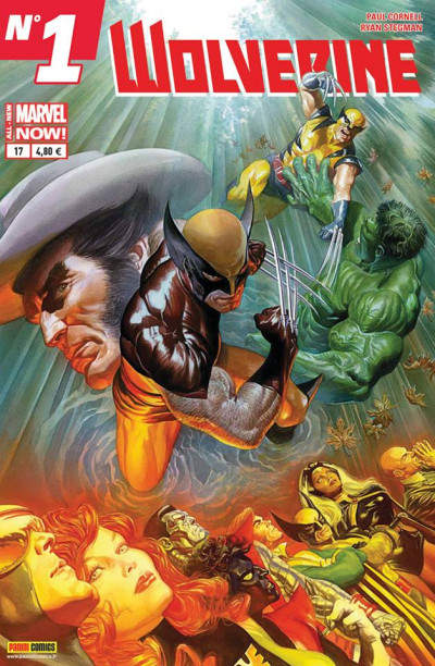 Couverture Wolverine 2013 tome 17 All-New Marvel Now 1