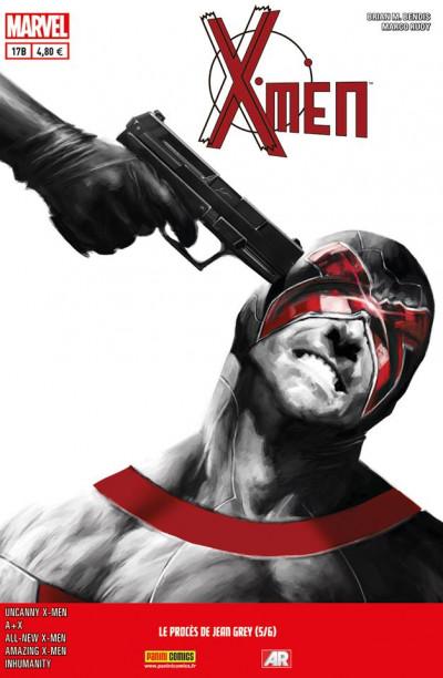 Couverture X-Men 2013 tome 17 :  Le procès de Jean Grey 5/6 (cover librairie)