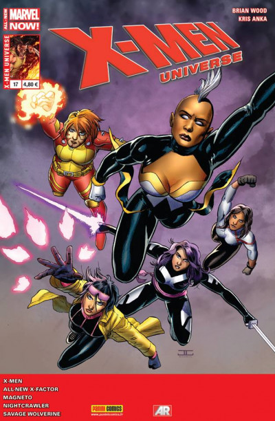 Couverture X-Men Universe 2013 tome 17