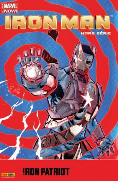 Couverture Iron Man 2012 HS tome 6 - Iron Patriot